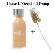Base L´Óreal True Match + Pump