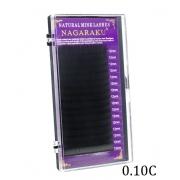 Cílios Nagaruku Para extensão de fios 12mm Curvatura C