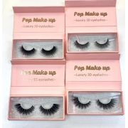 Kit 4 pares Luxury Lashes | Pop Make Up