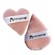 Kit com 2 esponjinhas com tira de cetim | Pop Make up
