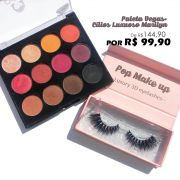 Kit Paleta + 1 par 3D Luxury Lashes | Pop Make Up