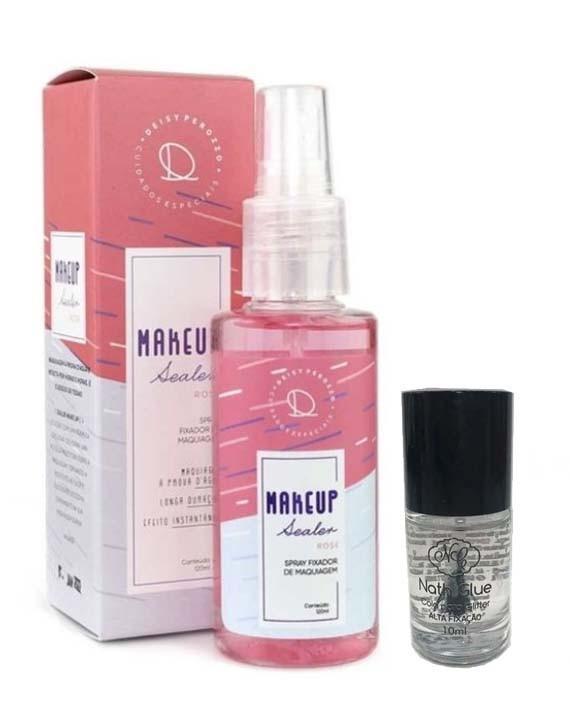 1 Nath Glue + 1 Makeup Sealer Rose Deisy Perozzo