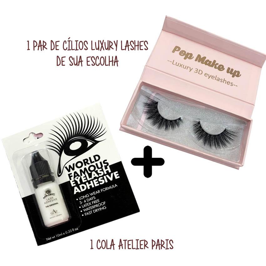 1 par de Luxury Lash + 1 Cola Atelier Paris