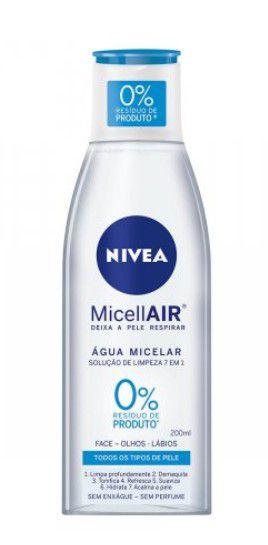 Água Micelar MicellAIR 200ml | Nivea