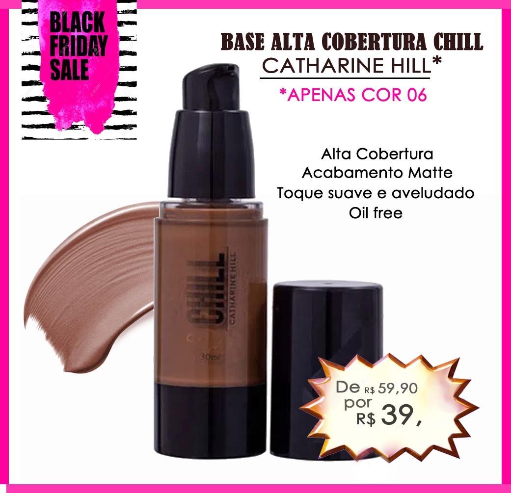 Base Líquida Alta Cobertura - Chill | Catharine Hill