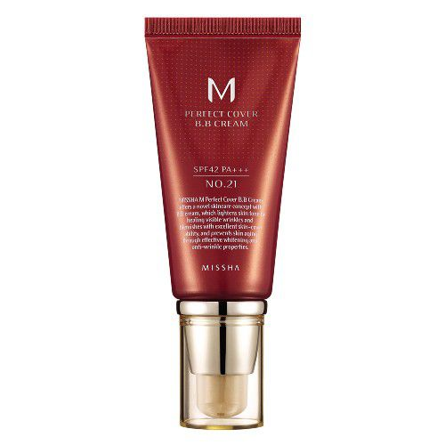 BB Cream Perfect Cover Missha FPS 42 - 50 ml