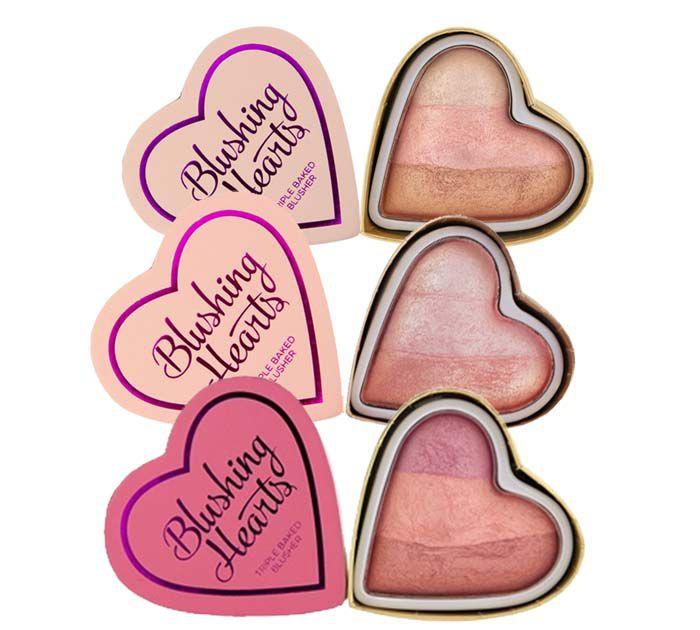 Blush Coração Triple Baked Blusher | Make up Revolution