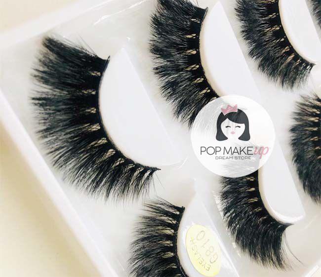 Cartela de Cílios com 5 pares G810 | Pop Make Up