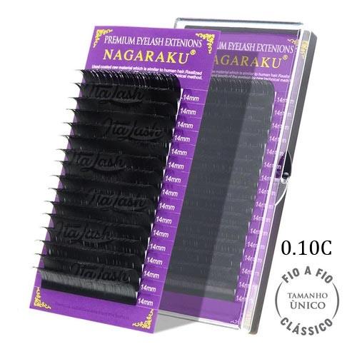 Cílios Nagaruku Para extensão de fios 14mm Curvatura C