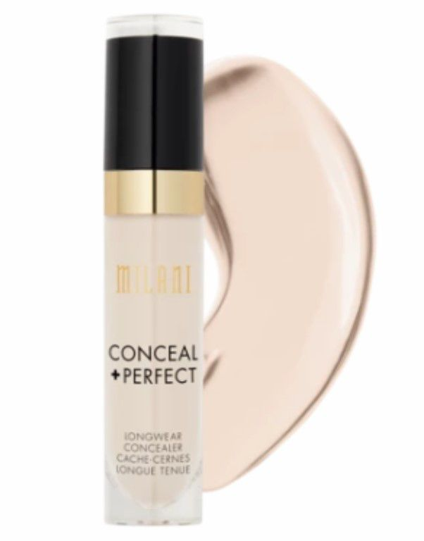 Corretivo Líquido Conceal + Perfect   Milani