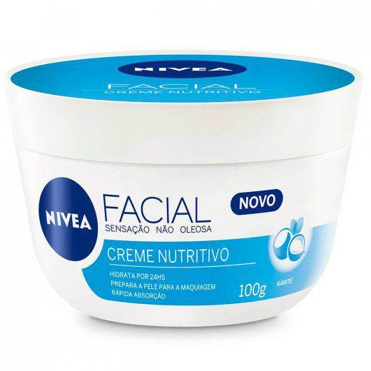 Creme Nivea Facial Nutritivo 100g | Nivea