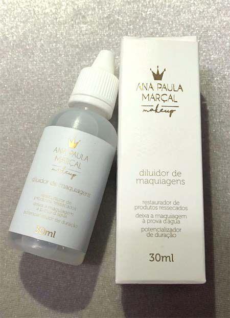 Diluidor de Maquiagens | Ana Paula Marçal Makeup
