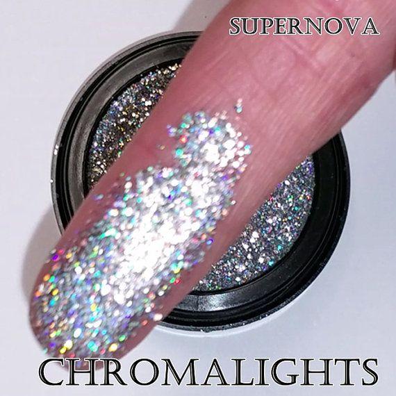 Glitter Prensado Chromalights MBA Cosmetics