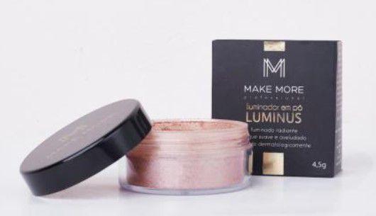 Iluminador em pó solto Luminus cor Radiance | Make More