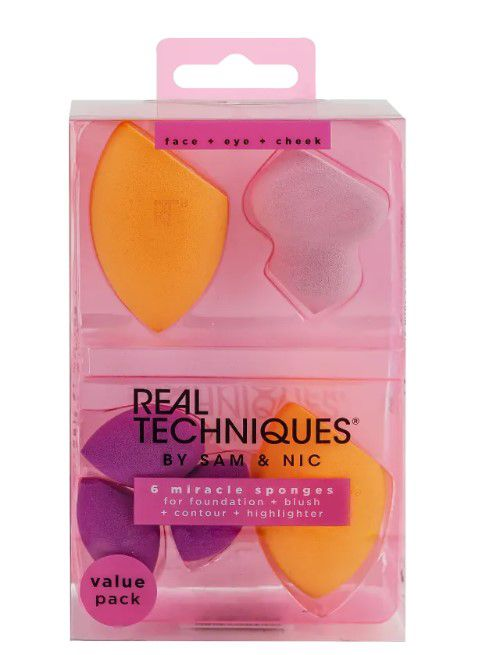 Kit 6 miracle sponges - Real Techniques