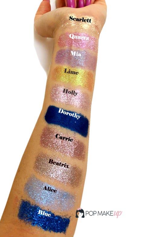 Kit com 10 pigmentos variados | Pop Make up