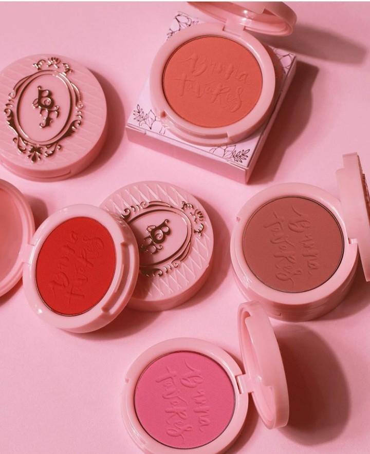 KIT COM 4 Blushes Nova Embalagem Linha Bruna Tavares | Pop Make up