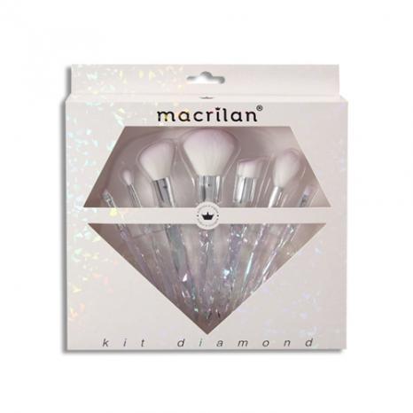 Kit Diamond ED003 com 7 pincéis | Macrilan