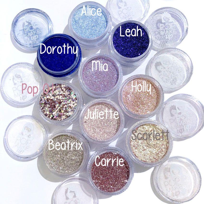 Nova coleção Glitters e Pigmentos | Pop Make up