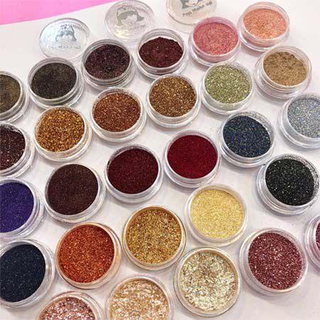 Lançamento! Pigmentos e Glitters | Pop Make up
