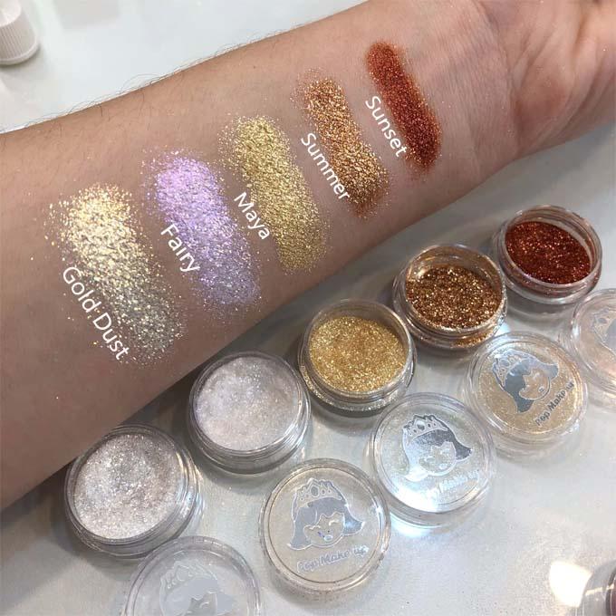 Lançamento! Pigmentos e Glitters   Pop Make up