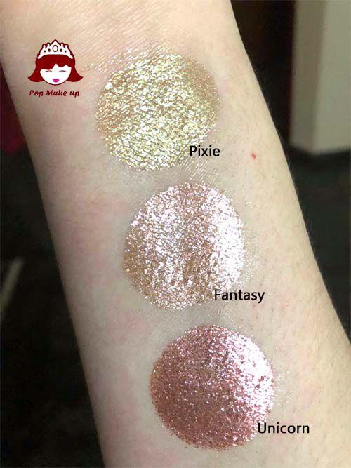 Pigmentos e Glitters   Pop Make up