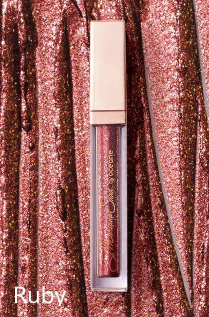 Liquid Eyeshadow Shine e Glow  Sombra Líquida Mariana Saad   Océane