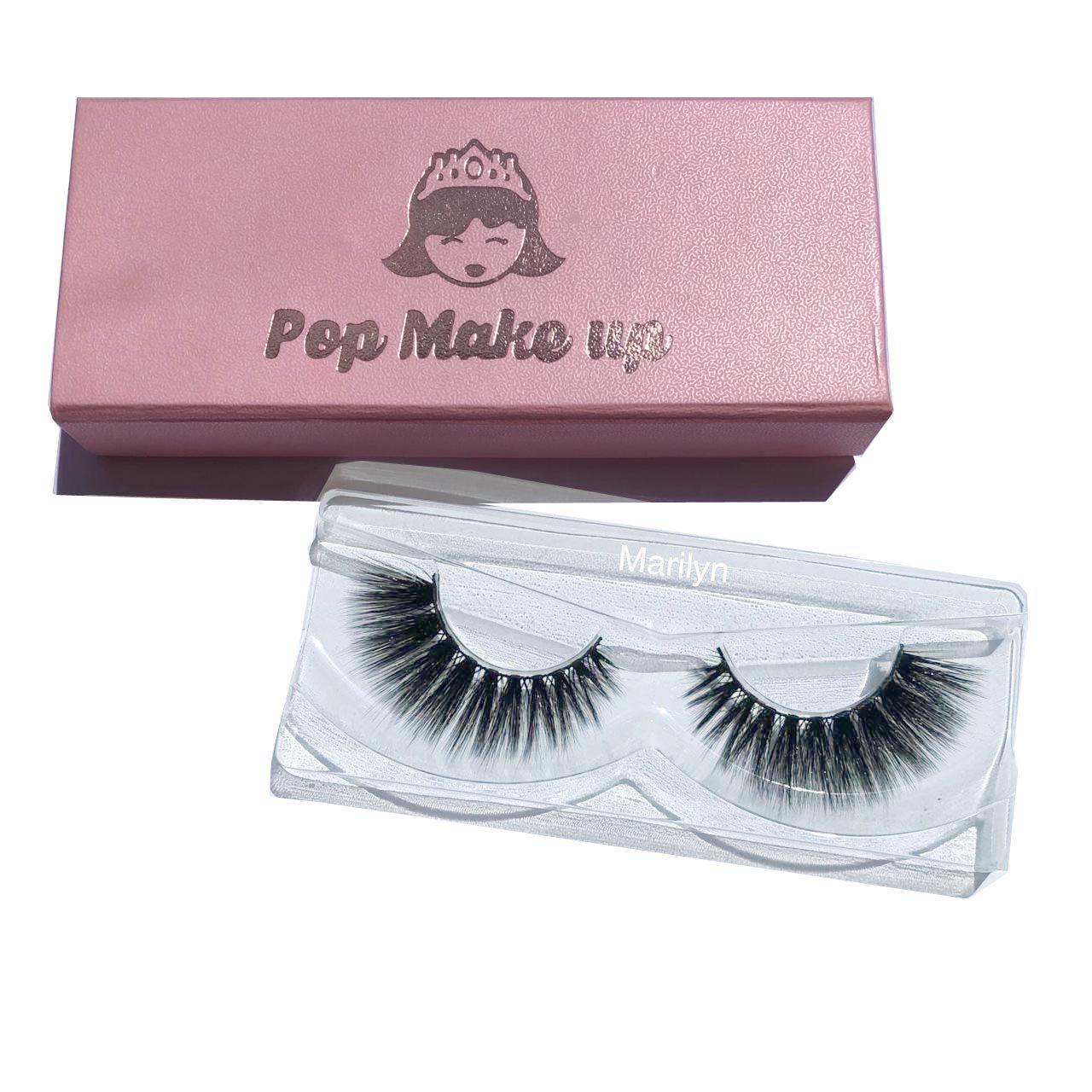 Luxury 3D Eyelashes | Pop Make Up