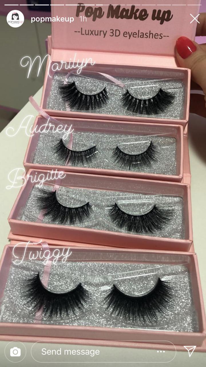 Luxury Lashes 3D  | Pop Make Up
