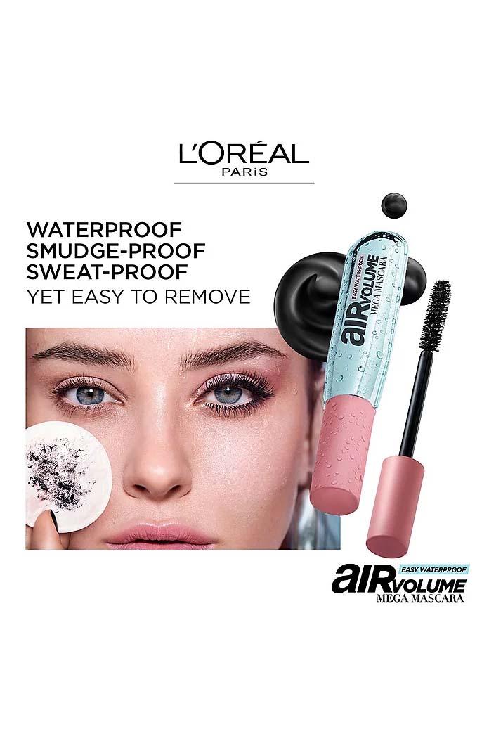 Máscara de cílios Air Volume Mega Mascara à prova d'água | L'Oréal