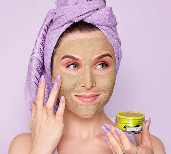 Máscara Facial Argila Verde | Chata de Galocha