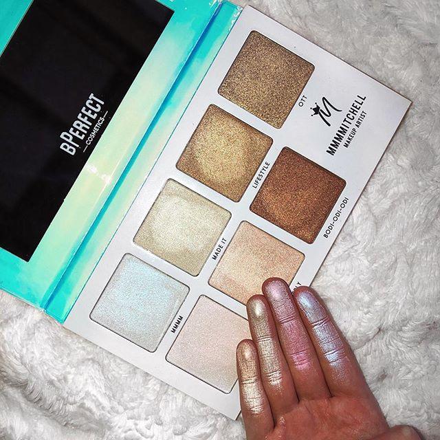 Paleta de Iluminador Sub Zero MMMMitchell | BPerfect Cosmetics
