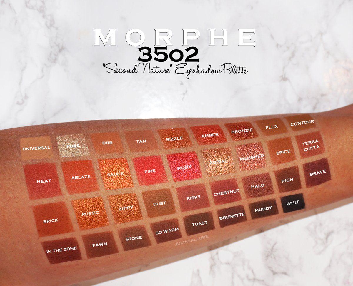 Paleta de Sombra 35 Cores 35O2 | Morphe