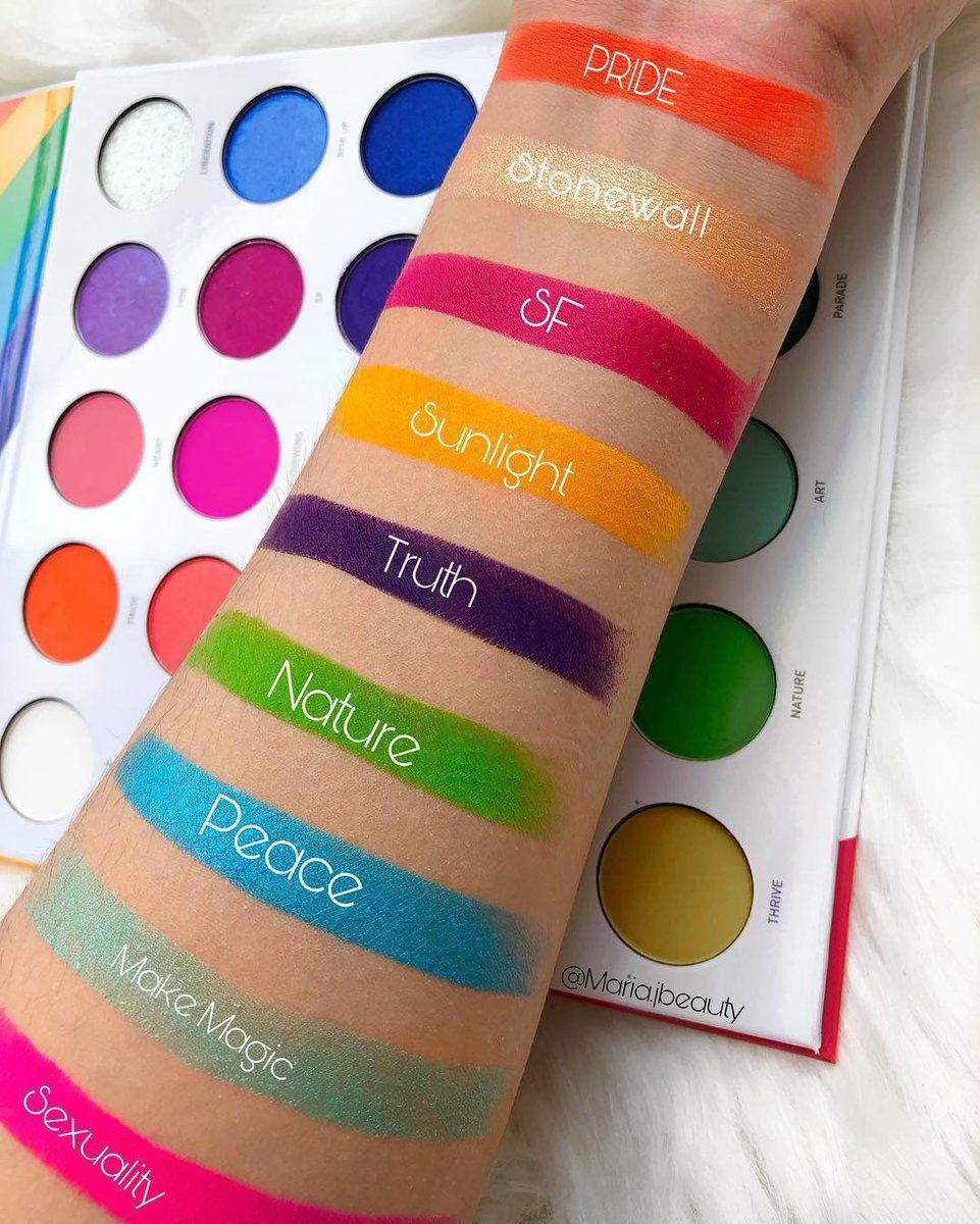 Paleta de Sombras 25L Live in Color   Morphe