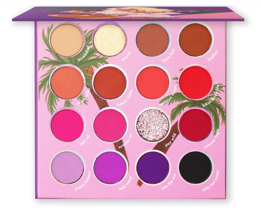 Paleta de Sombras Girls Just Wanna Have Sun | Kara Beauty
