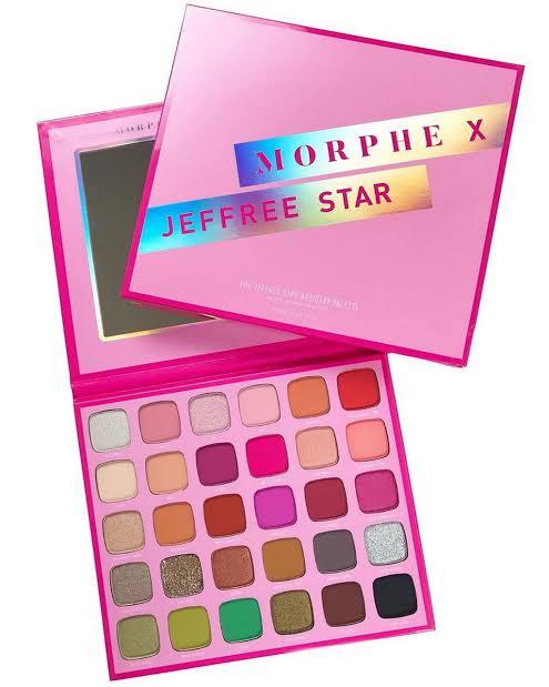 Paleta de Sombras Morphe X Jeffree Star | Morphe
