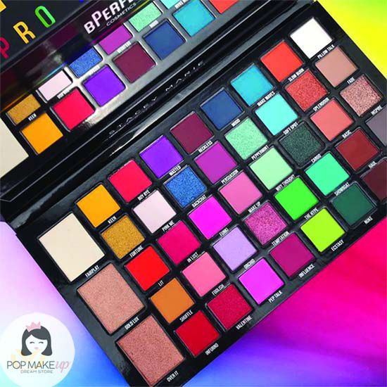 Paleta de Sombras Stacey Marie Carnival XL | BPerfect Cosmetics