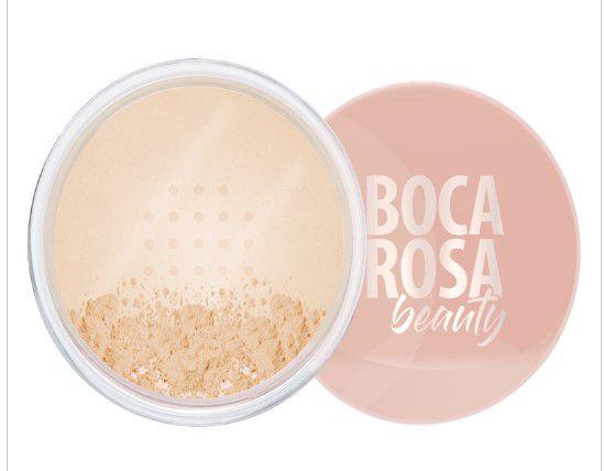 Pó Facial Solto Mate Boca Rosa Beauty  Cor 1 - Mármore | Payot