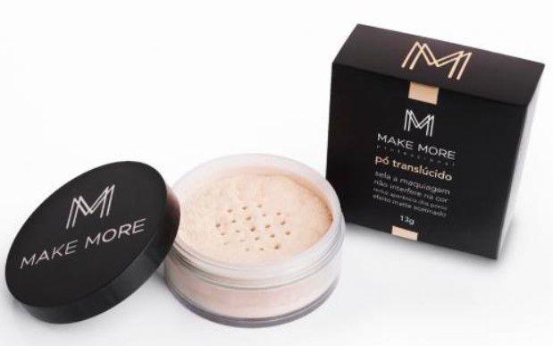 Pó Translúcido Facial Cor Luz 10 | Make More