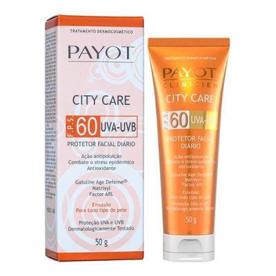 Protetor Facial Diário City Care FPS 60 | Payot