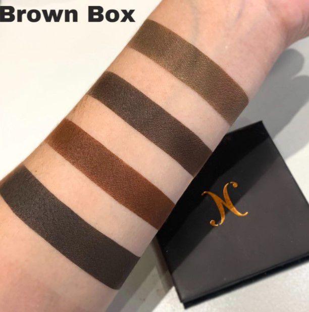 Quarteto para Sobrancelhas Brown Box | Nathália Capelo