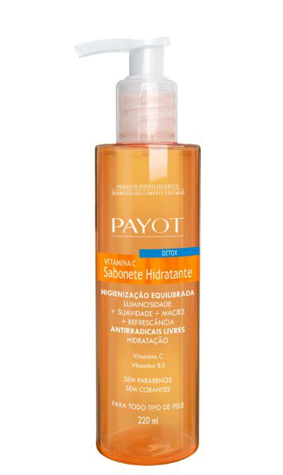 Sabonete Líquido Detox Vitamina C   Payot