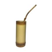 Kit Bambu - Copo e bomba