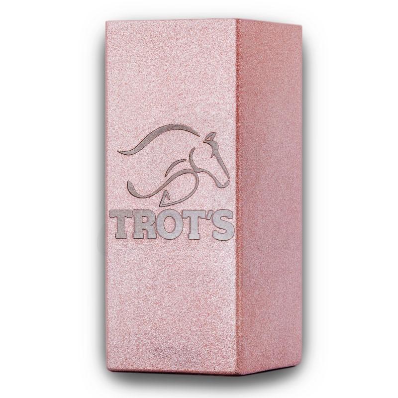 Copo Inox Trots - Quadrado Rose