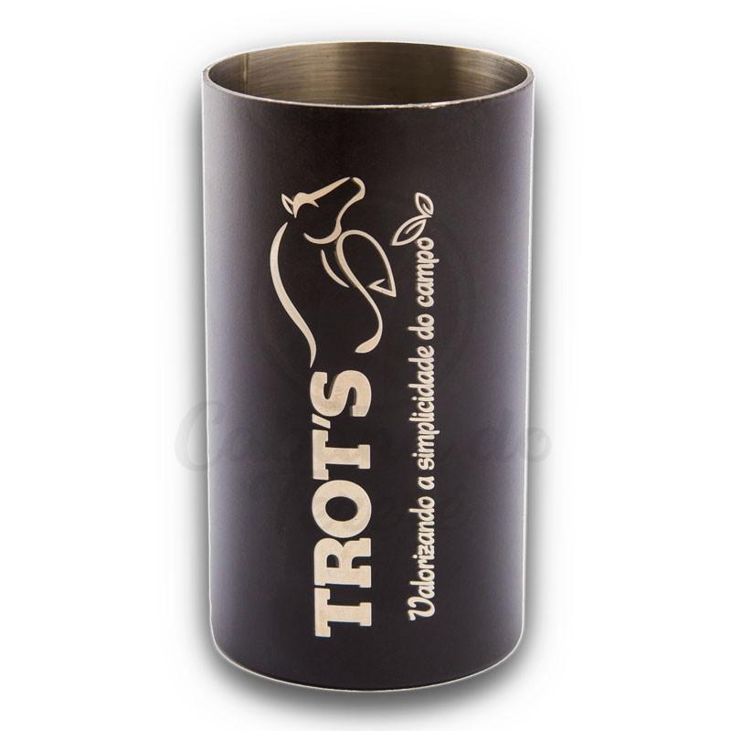 Copo Inox Trots - Redondo Preto Fosco 250mL