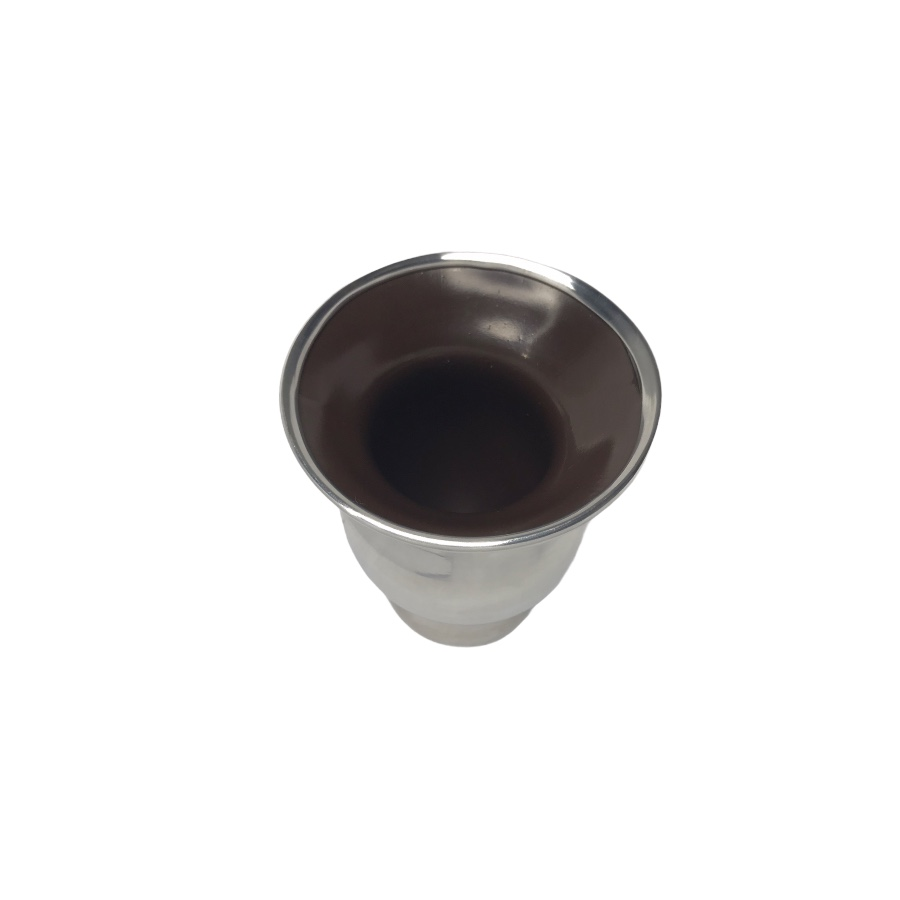 Cuia revestida em alumínio - Tereré e Chimarrão