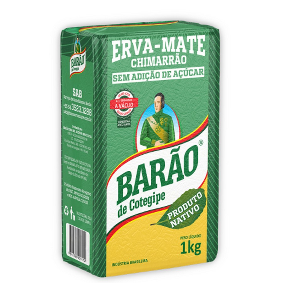 Erva-Mate Barao - Nativa Vacuo 1Kg