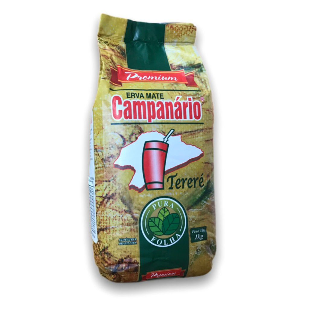 Erva Mate Campanario Pura Folha Premium 1Kg