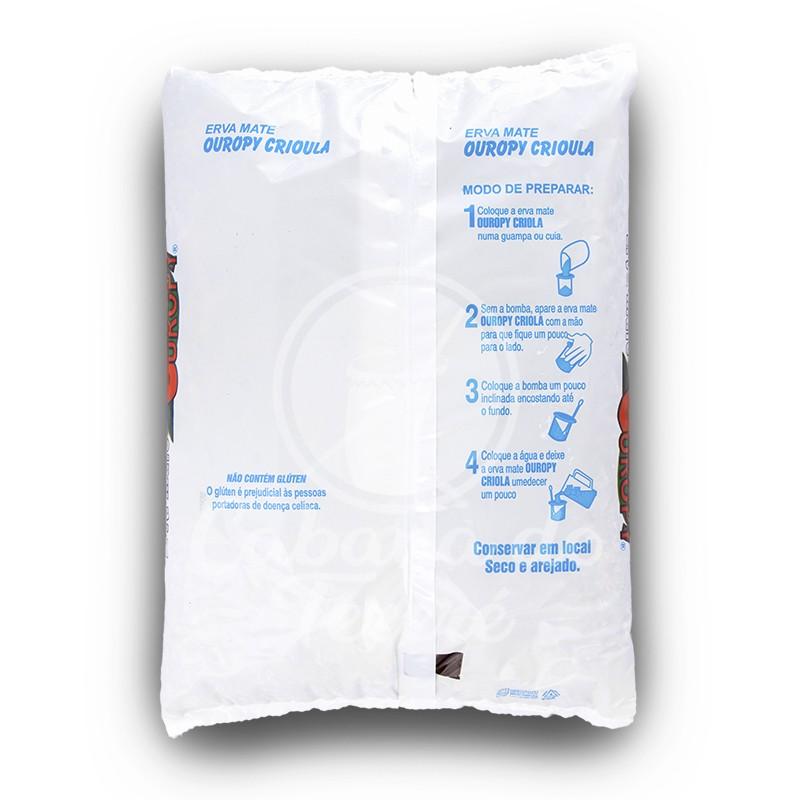 Erva Mate Ouropy - Cereja C/ Menta Americana Fresh Ice 500Gr