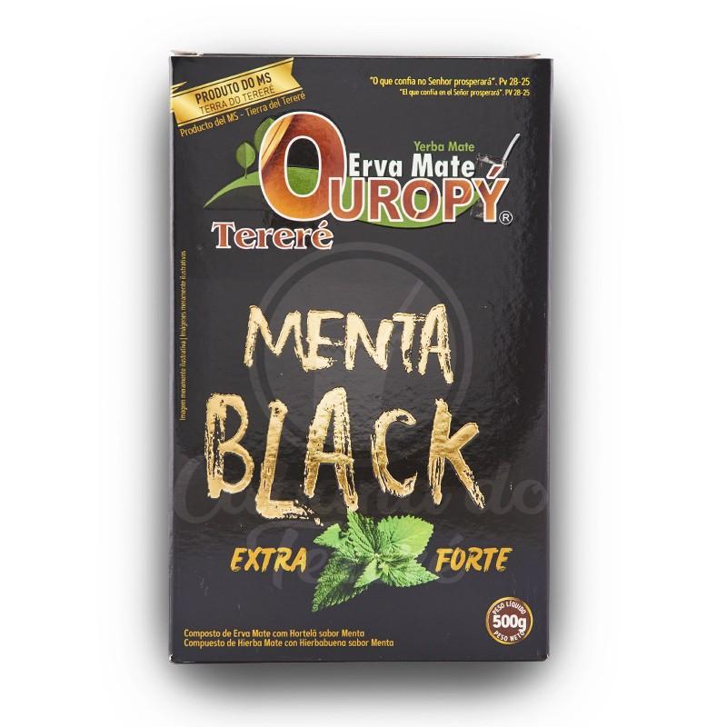 Erva Mate Ouropy - Menta Black 500G
